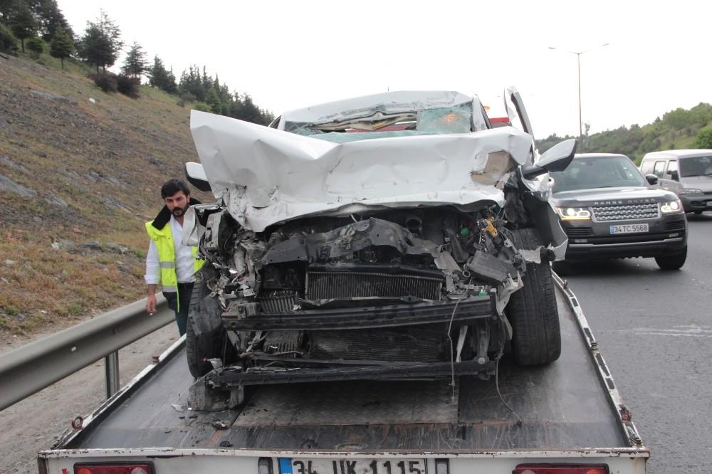 Kavacık'ta Trafik Kazası