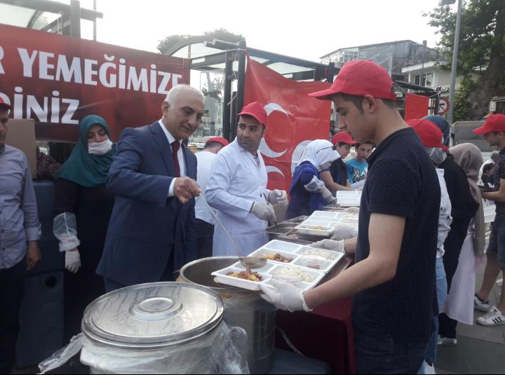 MHP Beykoz'dan Geleneksel İftar