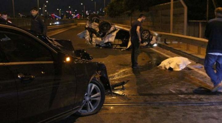 Beykoz'da Kaza; 1 Ölü, 2 Yaralı