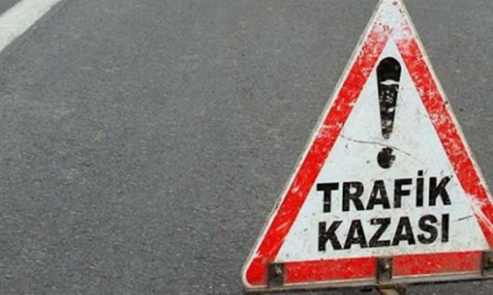 Ortaçeşme Muhtarı Trafik Kazası Geçirdi
