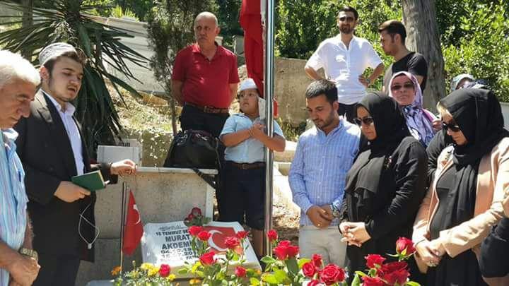 AK Parti'den Beykoz'da Şehit Ziyareti
