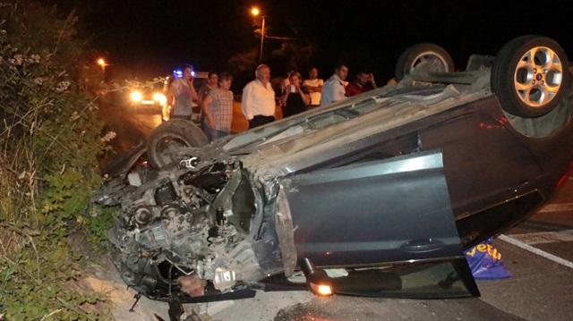 Çavuşbaşı'nda Trafik Kazası: 5 Yaralı