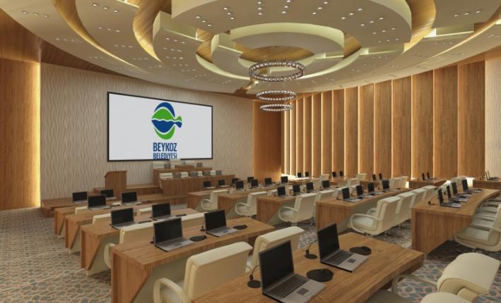 Belediye Meclis Binası Sarayları Aratmayacak