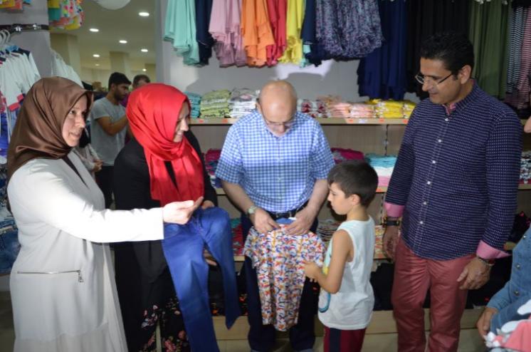 Şehit ve Gazi Çocukları Bayram Sevinci Yaşadı