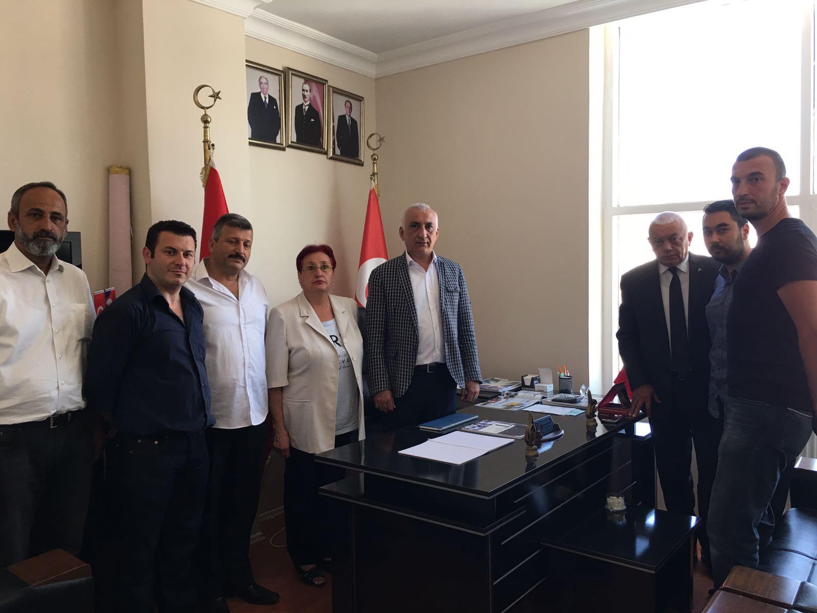 MHP Beykoz'da Bayramlaşma