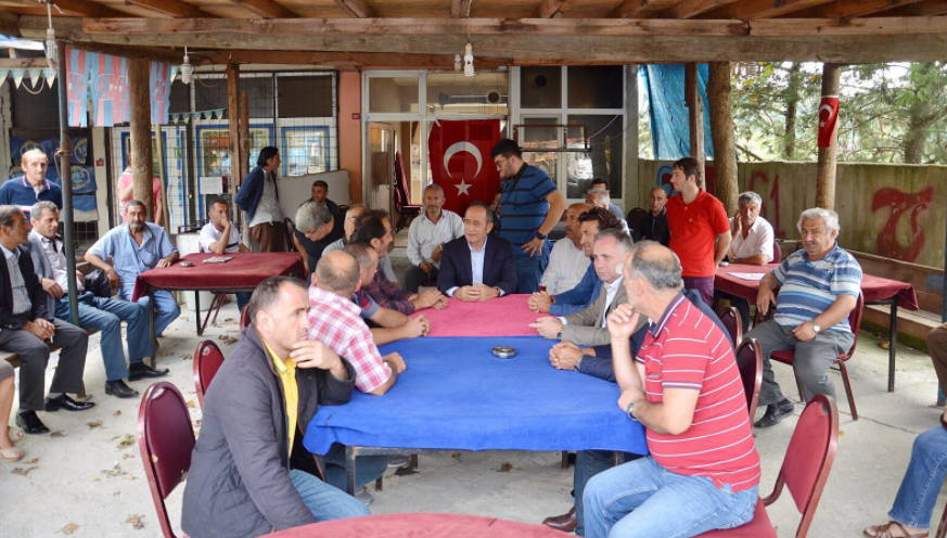 Akif Hamzaçebi'den Beykoz'daki Köylere Bayram Ziyareti