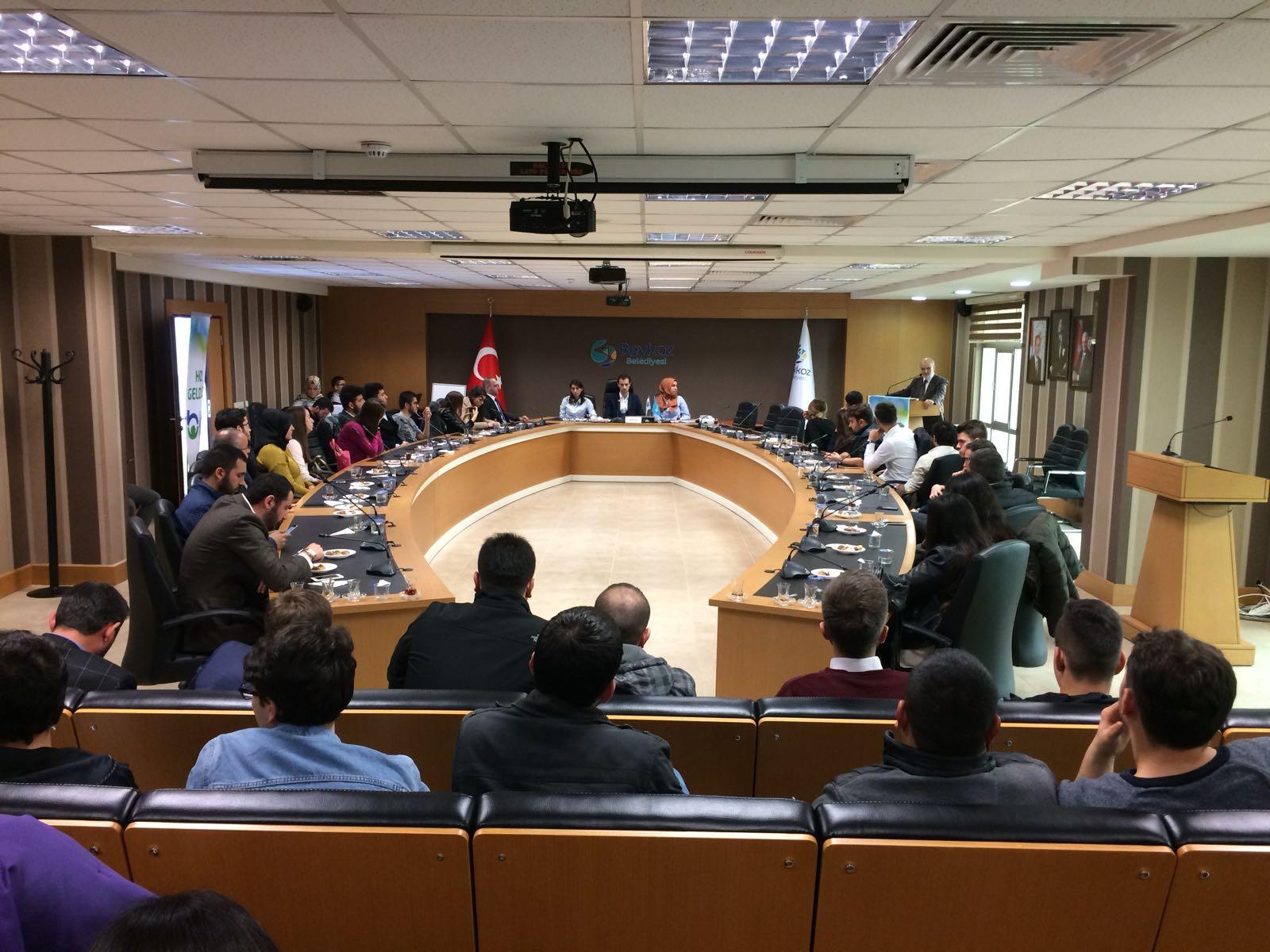 Belediye Kent Konseyi Gençlik Meclisi Kuruldu