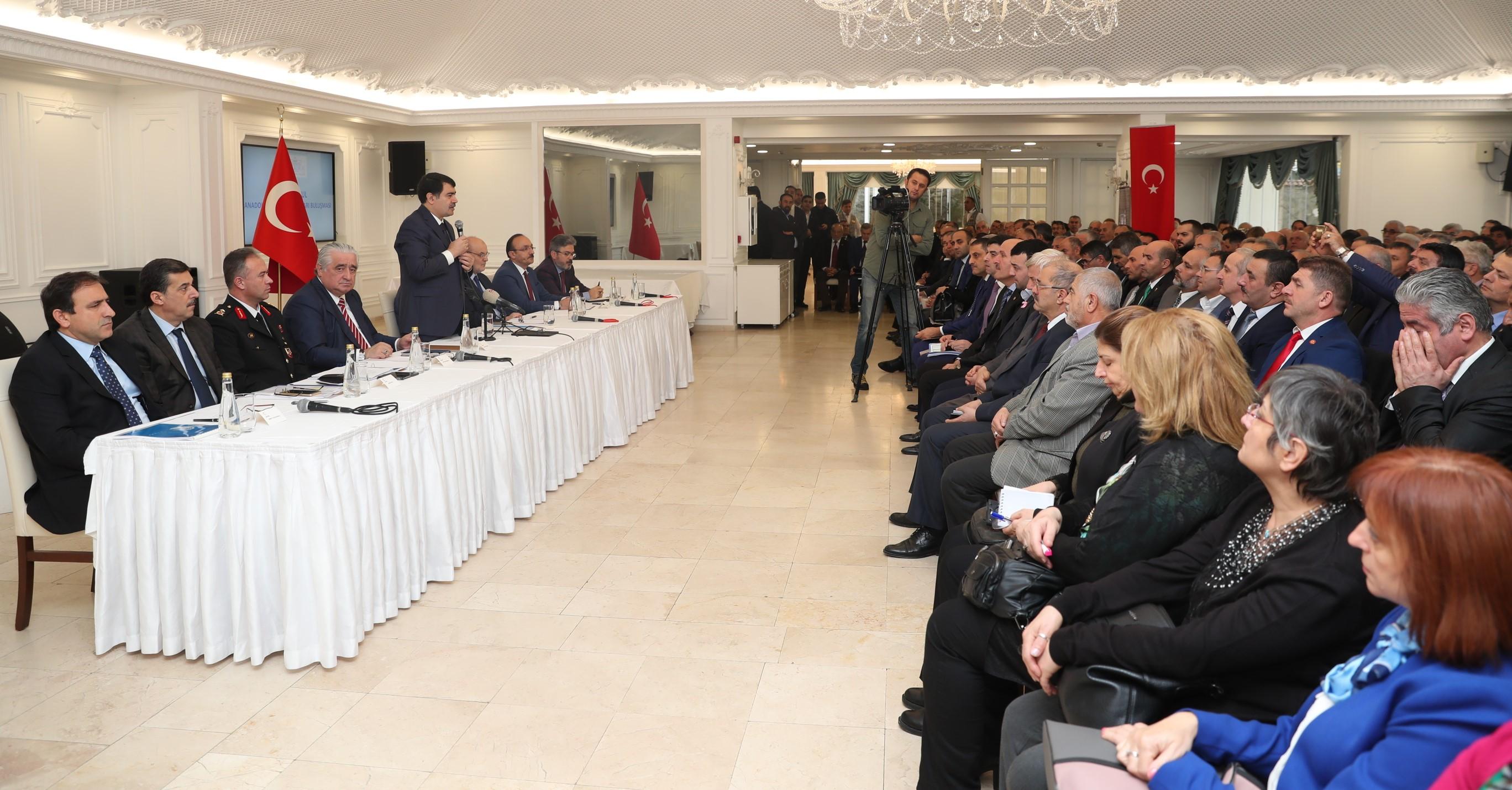 Vali Şahin, Anadolu Yakası'ndaki Muhtarlarla Beykoz'da Buluştu