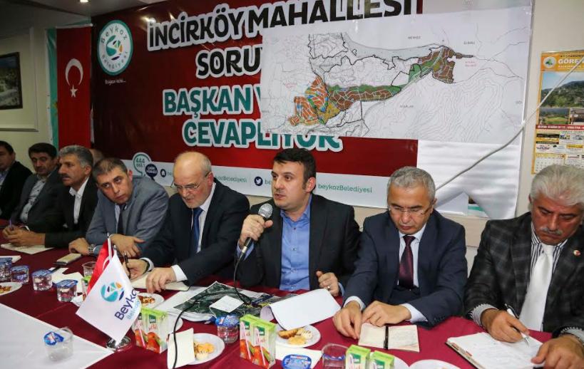 Başkan Çelikbilek: 'Yerinde Dönüşümle Beykozlunun Beykoz'da Kalacak'