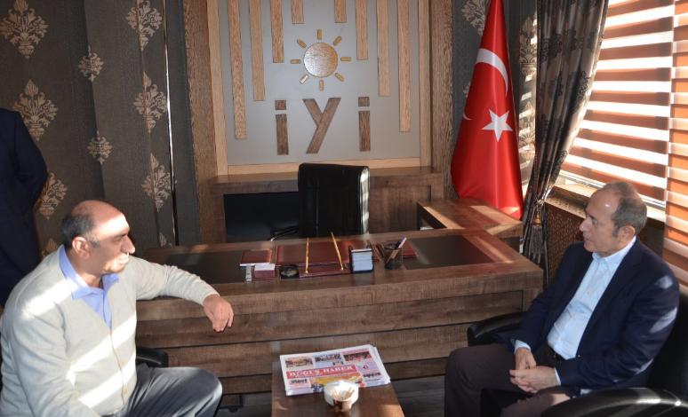 CHP Vekili Hamzaçebi'den, İYİ Parti'ye Ziyaret