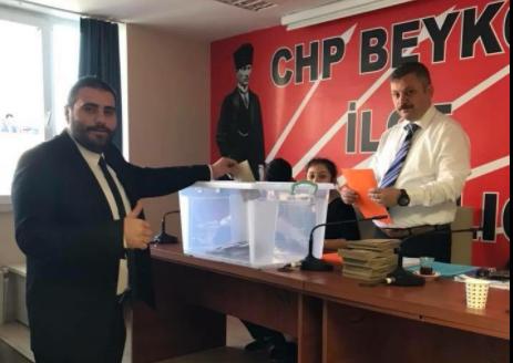CHP Gençliği, Ozan Yılmaz'a Emanet