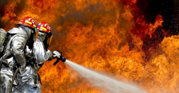Tokatköy'de Korkutan Yangın