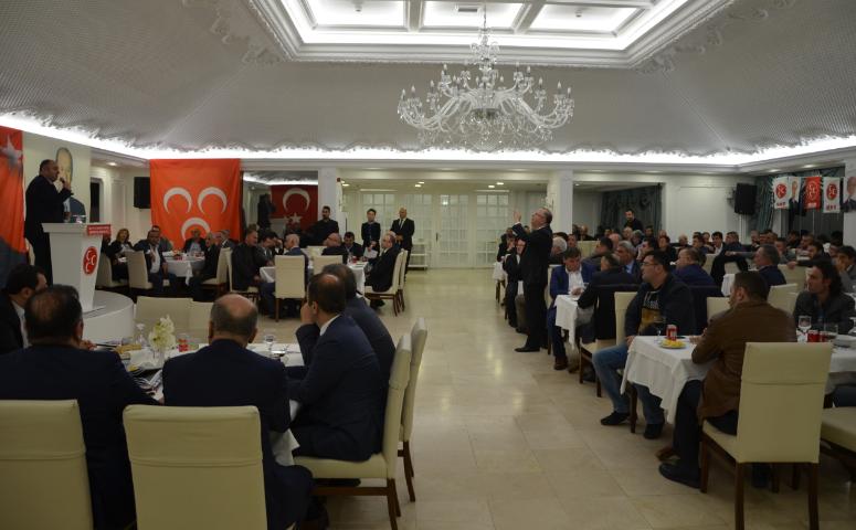 MHP Beykoz, Muhtarlar ve STK'lar İle Yemekte Buluştu