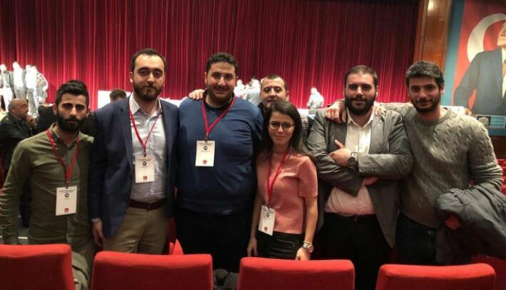 CHP Beykoz'dan İl Başkanlığına Bir Genç