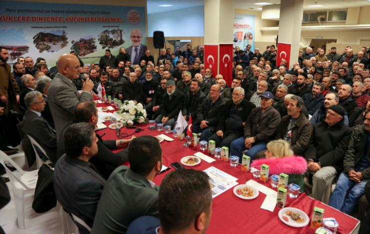 Tokatköy Halk Meclisi Yapıldı