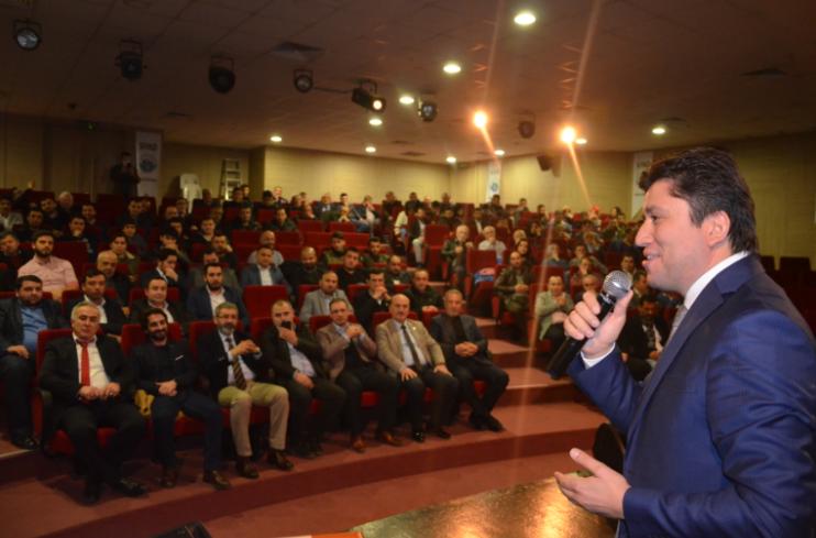 Sinoplu Gençlere 'Girişimcilik' Konferansı
