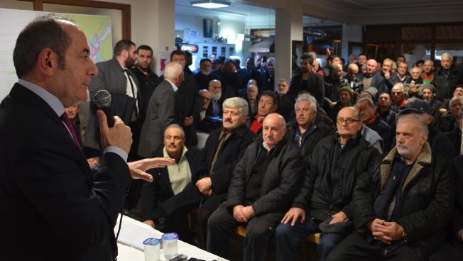 Hamzaçebi: 'Tokatköy'ün Sorunları ya Çözülecek ya Çözülecek'