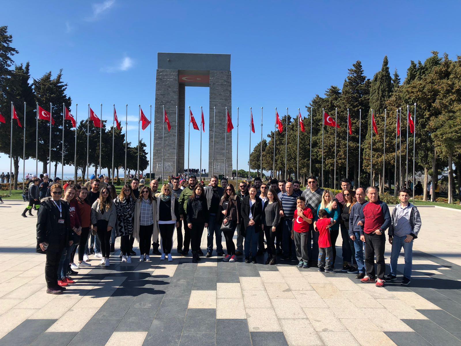 CHP Gençliği Çanakkale'yi Karış Karış Gezdi