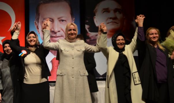 Beykozlu AK Kadınların Lideri Yeniden Gaye Zayıf Oldu!