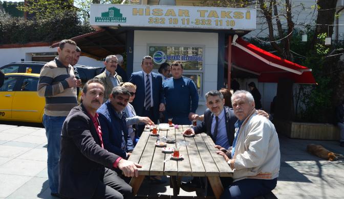 Beykoz İYİ Parti Esnaf Ziyareti Yaptı