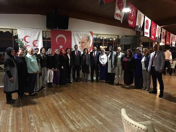 MHP'li Kadınlar, Vekil Adaylarıyla Beykoz'da Buluştu