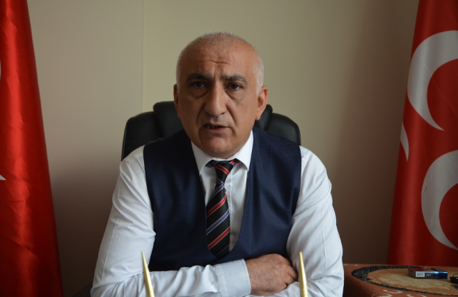 MHP'li Kahraman; 'Yel Kayadan Ancak Toz Alır'