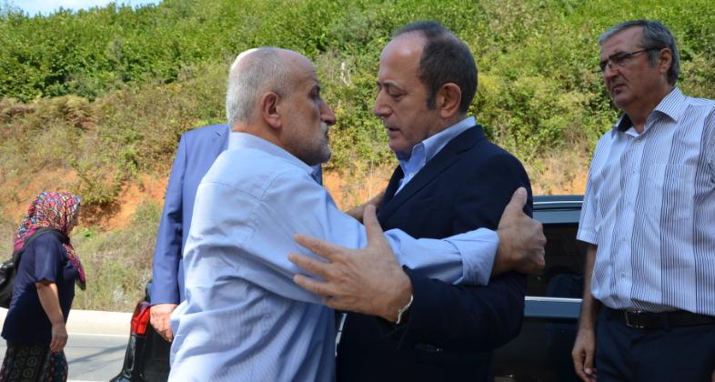 Hamzaçebi, Beykoz'da Taziye Ziyaretlerinde Bulundu