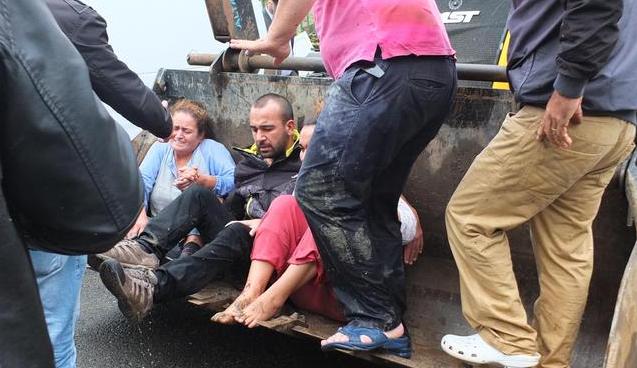 Şiddetli Yağmur Beykoz'a Kabus Yaşattı