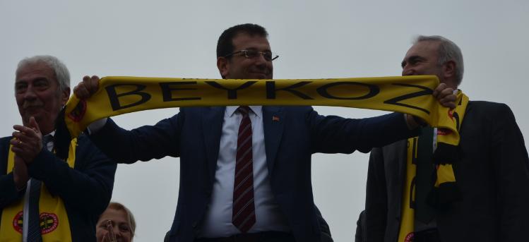 Beykoz'da Ekrem İmamoğlu Rüzgarı Esti