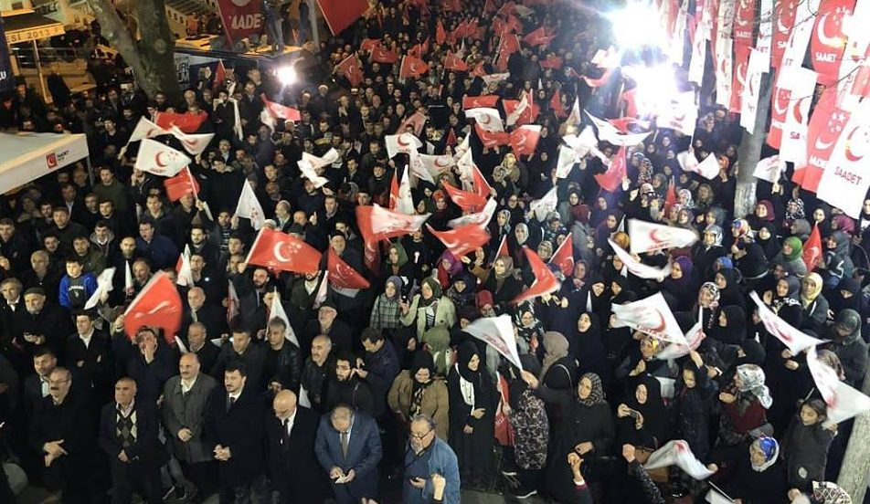 Saadet Partisi'ne Paşabahçe Dar Geldi