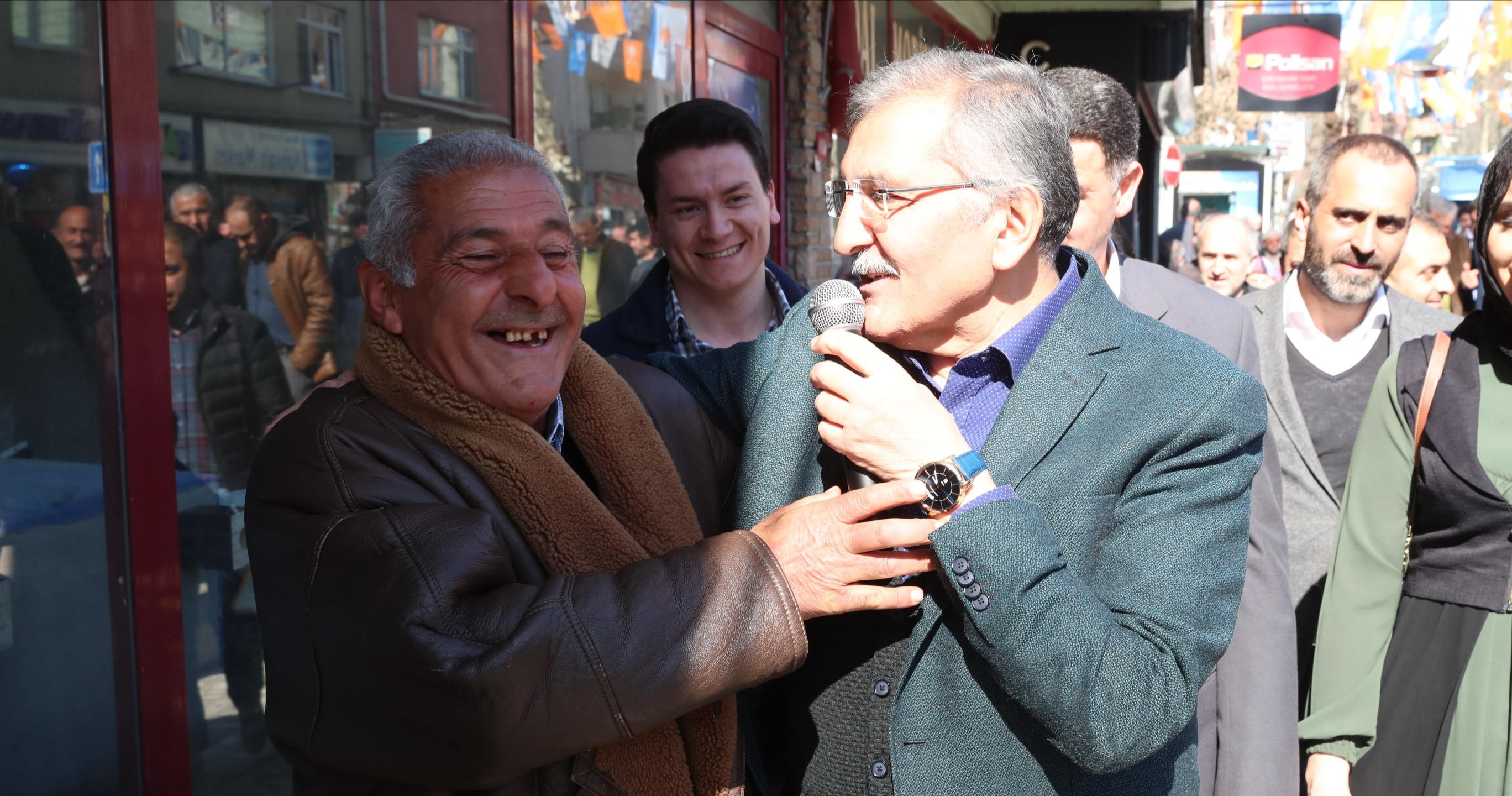 Murat Aydın Esnafla Pazarlık Yaptı