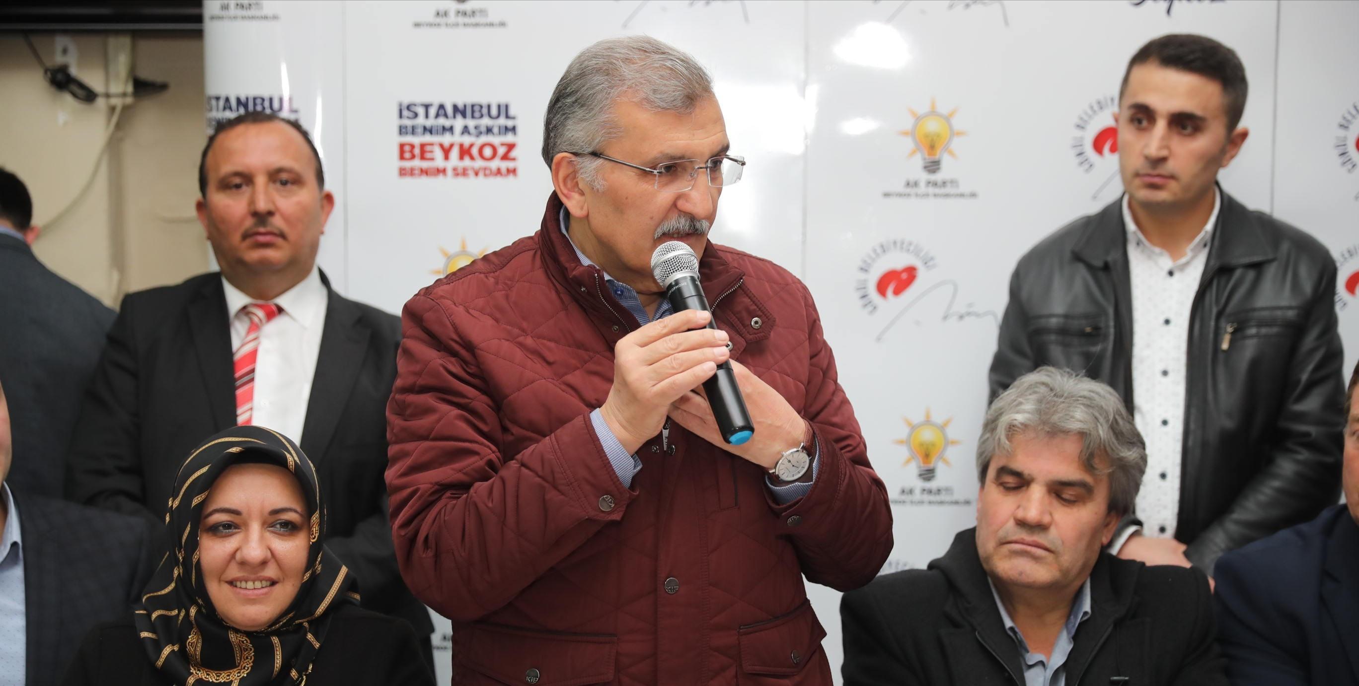 Murat Aydın: 'Beykoz'da Zengin, Fakir Ayrımını Ortadan Kaldırmak İstiyoruz'