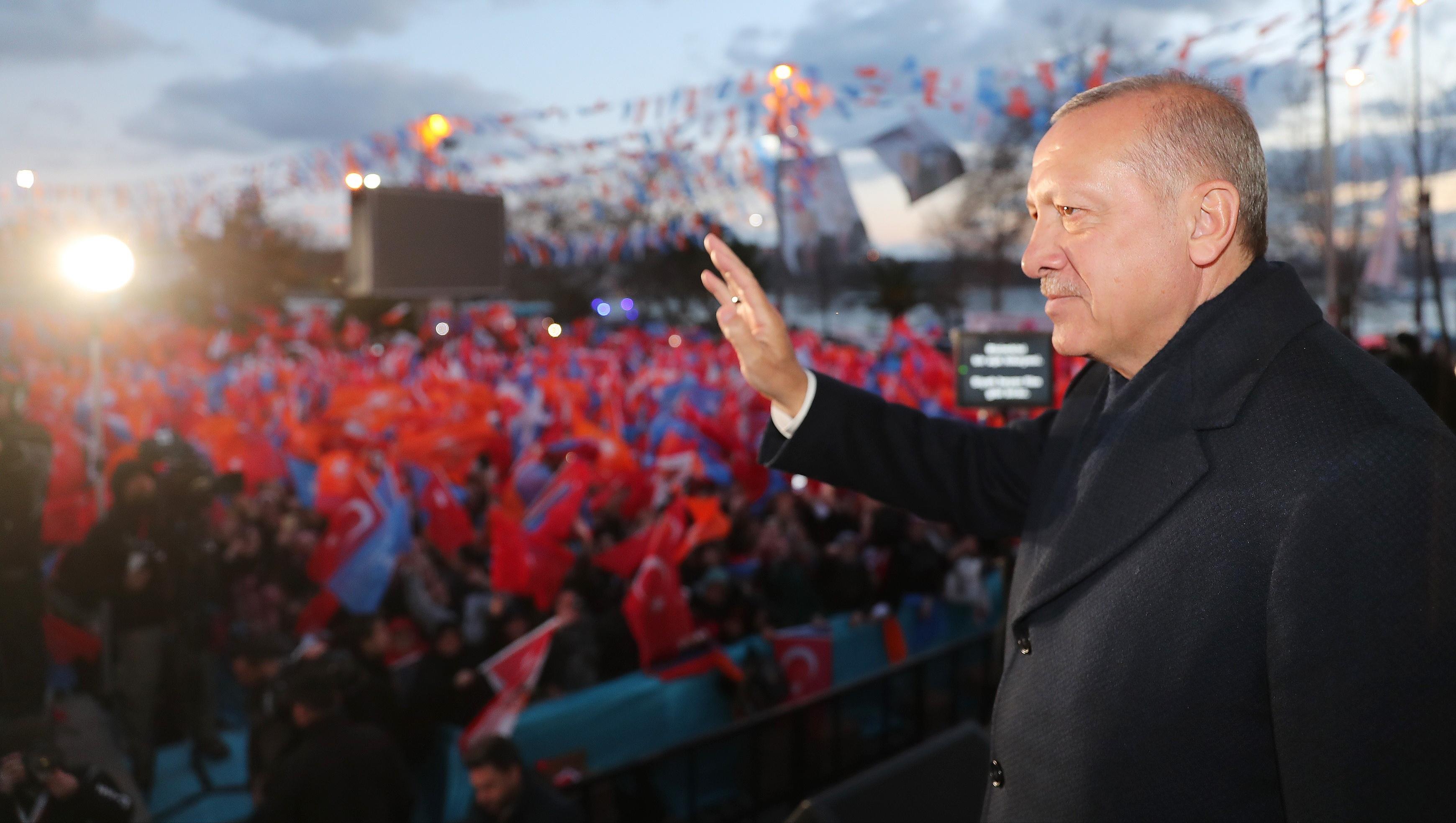 Cumhurbaşkanı Erdoğan, Beykoz'da 15 Temmuzu Hatırlattı