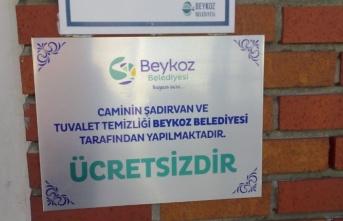 Beykoz'da Cami Tuvaletleri Ücretsiz Oluyor