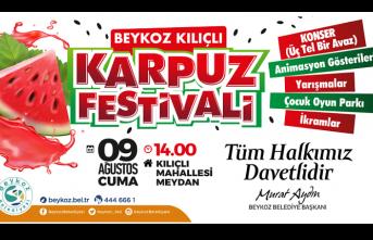 Beykoz'un Meşhur Karpuzu Festival le Tatlanıyor