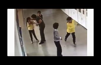 Beykoz'da Öğretmenden Öğrenciye Şiddet Kameralara Yansıdı