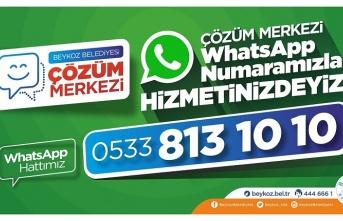 Çözüm Merkezi WhatsApp Hattı Hizmette