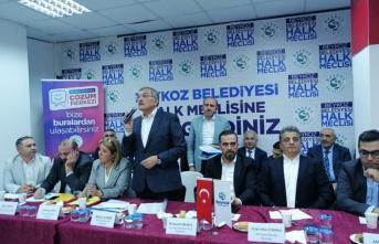 Başkan Aydın, Halk Meclisinde Kavacık Mahalle Sakinleriyle Buluştu