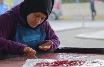 Dünyanın En Büyük Cam Mozaik Türk Bayrağı'ın Yapımına Başlandı