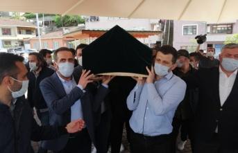 Beykoz Mehmet Temel'i uğurladı