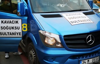 Beykoz'da yeni minibüs hattı başladı