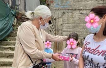 Beykoz'da yetimlerin Oya ablası var