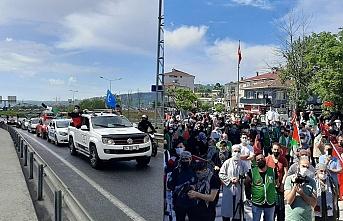 İHH Beykoz'dan Filistin'e destek konvoyu!
