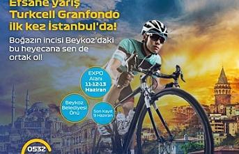 GranFondo İstanbul Pedalları Beykoz'da dönecek