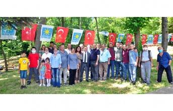 İYİ Parti Beykoz'da kahvaltı programlarına başladı