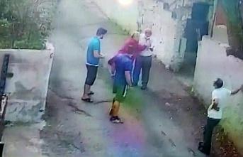 Beykoz'da sokak köpeğini besleyen hayvansevere tehdit