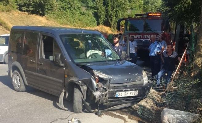 Beykoz Alman Üniversitesi Önünde Ölümlü Kaza