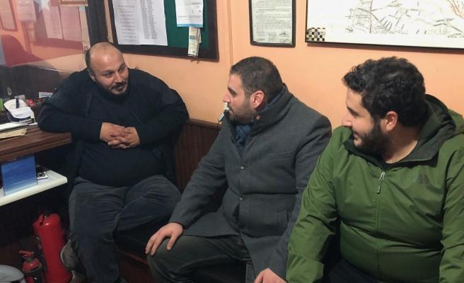CHP Gençliği Taksi Duraklarını Ziyarete Devam Ediyor