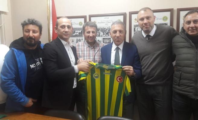 Anadoluhisarı Spor Kulübü, Efsane Başkan Ergül'ü Bağrına Bastı