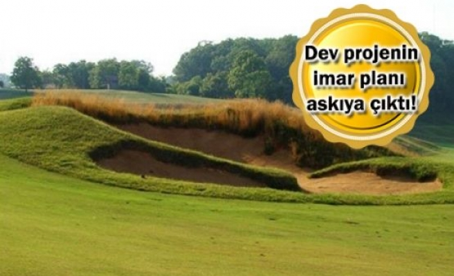 Mustafa Vehbi Koç Golf Tesisi İçin İmar Planı Hazırlandı!